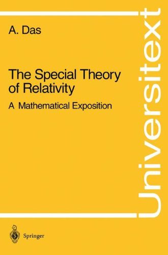 The Special Theory of Relativity: A Mathematical Exposition