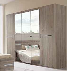 Germanica BAVARI Bedroom Furniture: 5-Door Wardrobe in ...