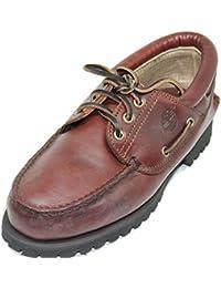 Zapato Náutico de Cuero Engrasado Impermeable TIMBERLAND Color Marrón ...