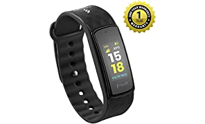 MevoFit Bold Fitness Band & Smart-Fitness-Watch for Athletes & Sports PRO with Color Display, Heart Rate