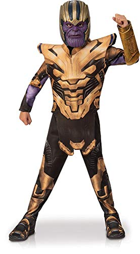 Rubies - Disfraz Infantil de Los Vengadores Endgame Thanos, Talla S, Edad 3 - 4, Altura 117 cm