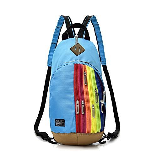 mdsqwl Frau RucksackMode Regenbogen Kuriertasche Brustkoreanischen Rucksack KinderVaterschafts Dual-Use -Handtasche