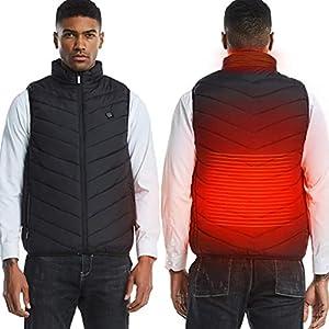 Balai Elektrisch beheizte Weste, Mobile Warming USB Powered Winter Warm Outwear Weste