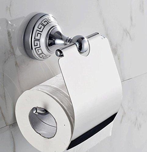QUEEN'S Papier/Wc Papierhalter/Handtuchhalter/Blue-And-weißes Porzellan WC-Papierhalter , 2,Tissue Box Halter