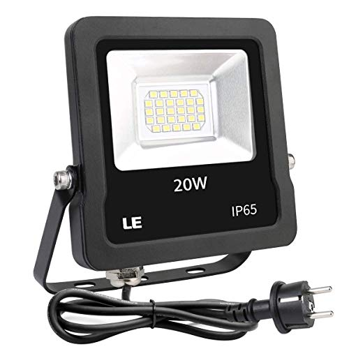 Lighting EVER - Foco LED 20W 1600LM, Impermeable para Exteriores, color Blanco...
