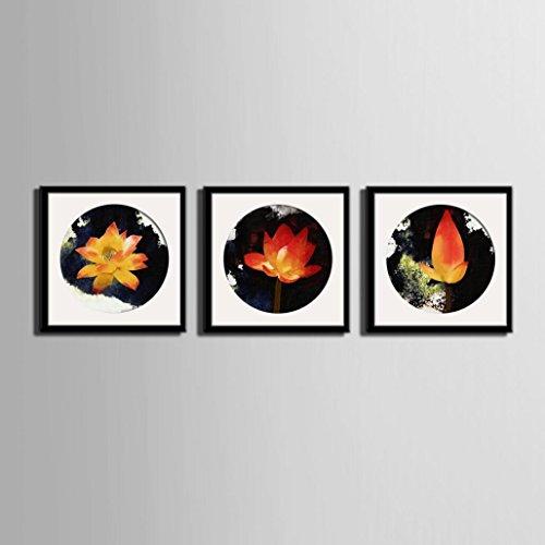 lotus-cuadro-de-pintura-pintura-decorativa-de-pared-arte-pintado-oilcloth-comedor-dormitorio-lienzo-