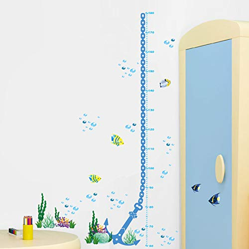 21c3f767c61181 Poisson sous-marin de bande dessinée poisson bulle hauteur de bulle mesure  croissance graphique stickers
