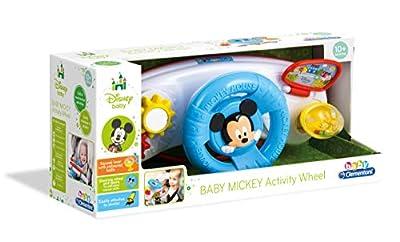 Disney 17213 Clementoni-17213-Disney Baby Mickey Kinderwagen Activitiy Center, Mehrfarbig