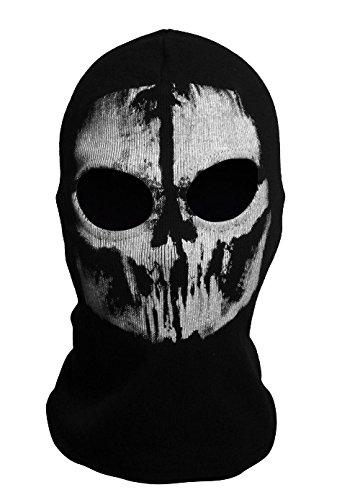 DAYAN Ghosts Sturmhaube Bike Skateboard Cosply Kostüm Schädel-Maske Stil 2 (Cod Ghosts Kostüm)