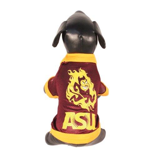 All Star Dogs NCAA Arizona State Sun Devils Athletic Mesh Dog Jersey, Unisex-Erwachsene, Team Color, Large (Sun Kostüme Erwachsene)