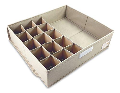 Cassetti Contenitori Sotto Letto : Divisore per cassetti contenitore sottoletto con divisioni per