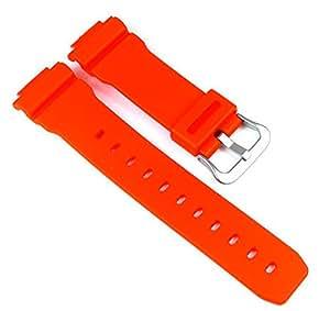 Casio Ersatzband Uhrenarmband Resin Band Orange für DW-6900MM-4ER GW-M5610MR