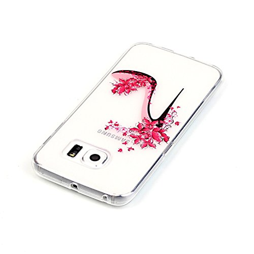 Hülle für iPhone 5s TPU Muster,TOCASO Ultra Slim Bunte Schutzhülle Silikon Gel Skin Transparent Bumper Rand Case Durchsichtig Rückschale Clear Cover Pattern Fall Handyhülle Weiche Ränder Etui Schale B Crystal Cover,#7