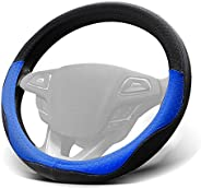 Win Power Car Steering Wheel Cover Universal 38cm 15 inches Soft Microfiber Leather