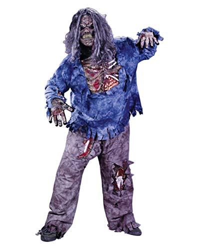 Zombie Deluxe 3D Kostüm - Gr. XL (28 Days Later Kostüm)