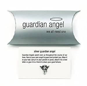 Sterling Silver Guardian Angel - Tales From The Earth - Pillow Pack