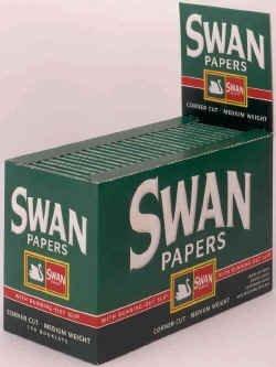 Swan Cartine per Rollare - Pacco da 100 pezzi