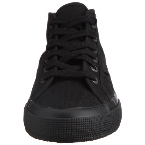 Superga 2754 Cotu, Unisex Erwachsene Hi-Top Sneakers Schwarz (Total Black)