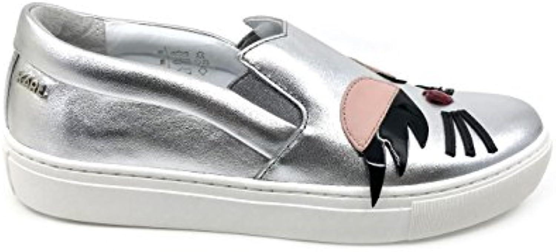 Karl Lagerfeld KUPSOLE CHOUPETTE Lash Slip On KL61008 argentoo MainApps | benevento  | Scolaro/Ragazze Scarpa