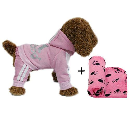 YAAGLE Haustier Warm Pullover Hoodie Coat Sweatshirt Kleidung Kostüm Bekleidung für Hunde/Katzen