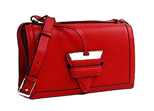Ms. Messenger Bag In Pelle Red