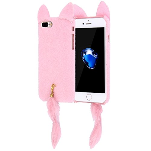 iPhone Case Cover Housse de protection pour iPhone 7 Plus Fox ( Color : Pink ) Pink