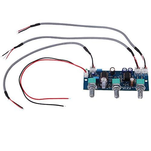 1pc Single Netzteil Low Pass Filter Pre AMP Vorverstärkerplatine für 2.1 Kanal Subwoofer