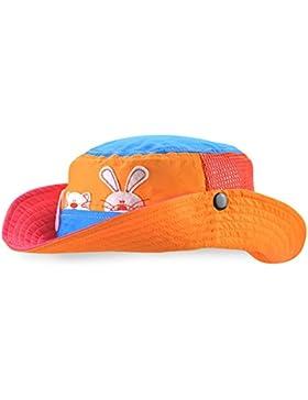 Roffatide Animale Ragazzi Cappello da Pesca Cappello da Sole per Ragazze Estate Maglia Traspirante Bambino