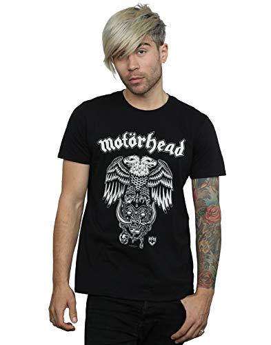 Absolute Cult Motorhead Hombre Hiro Double Eagle Camiseta Negro Medium