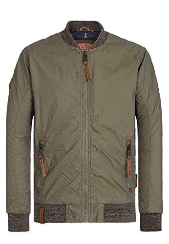 Naketano Male Jacket Der Bumser Olive, S
