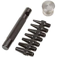 Multifunktions-Mini-Leder Punch Gesetzt Ovale Stempel Handhabendes Werkzeug Größe 2.0-5.0mm