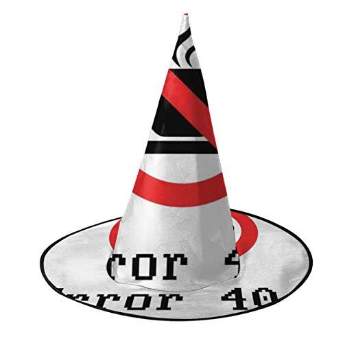 Fehler 404 Halloween Kostüm Nicht Gefunden - KUKHKU schwarzer Text Fehler 404 Sarg