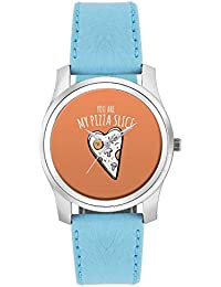 BigOwl You Are My Pizza Slice | For Couples Him/Her Fashion Watches For Girls - Awesome Gift For Daughter/Sister...