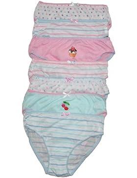 Bambini 7 Confezione Girls Slip
