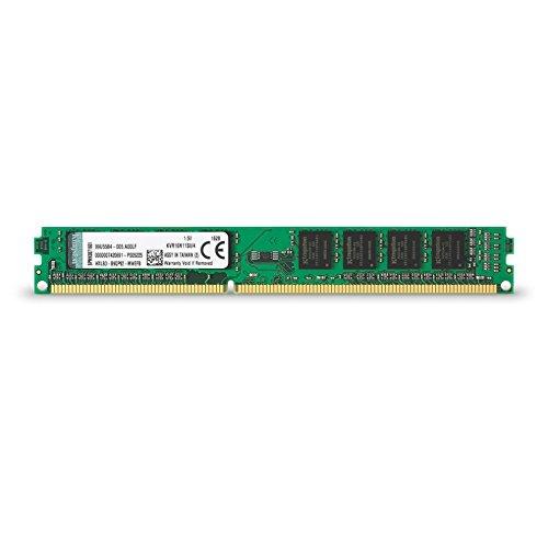 Kingston KVR16N11S8/4 - Memoria RAM de 4 GB (1600 MHz DDR3 Non-ECC CL1