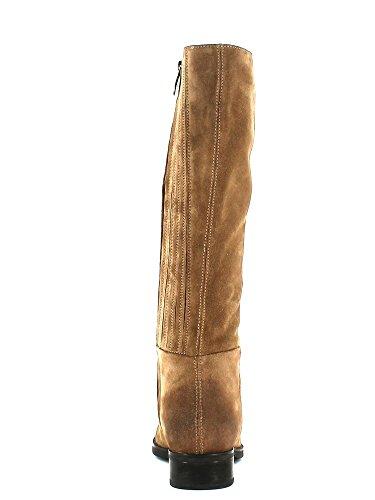 Geox D3490P00023 Stiefel Damen Wildleder Taupe