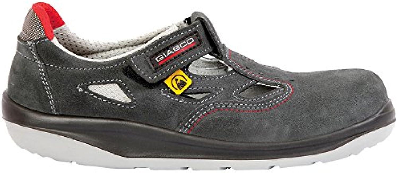 Giasco 71t95 C36 - Sandalia Lima S1P, color negro/gris, multicolor, 71T95C37