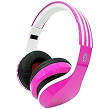 Auriculares Diadema Auriculares Plegables con Función 4 en 1, Auriculares Inalámbricos Bluetooth con Micrófono, Cascos Bluetooth Audio de Alta Fidelidad y HiFi,