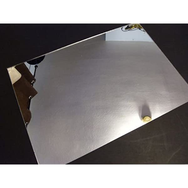 1mm Silver Hips Safety Mirror A5 Sheet 210 X 148 High Impact Polystyrene Sheet Plastic Safety Mirror Amazon Co Uk Kitchen Home