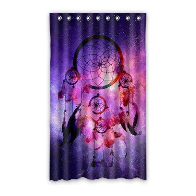 """dalliy personalizado Atrapasueños cortina de ventana poliéster 50""""X84"""" sobre 127cm x 213cmcm (una sola pieza), poliuretano, B, 50"""" x 84"""""""
