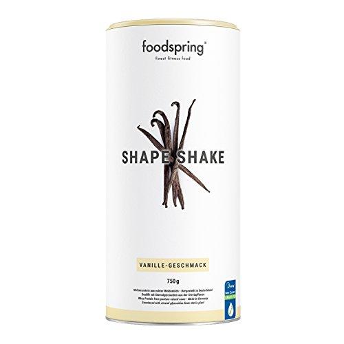 foodspring Shape Shake, 750g, Vanille, Drink für dein Figur-Training, Von führenden Diätexperten entwickelt und in Deutschland hergestellt (Diät-süße)