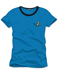 Star Trek T-Shirt - Uniform Spock/Dr. McCoy