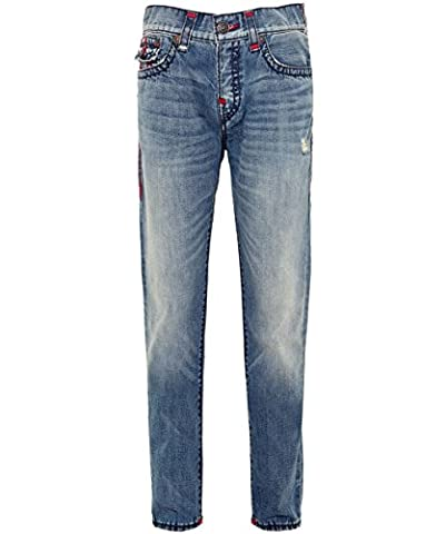 True Religion Herren Rocco skinny super t jeans Vintage Herrlichkeit 50 Regelmäßige