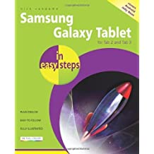 Samsung Galaxy Tablet in Easy Steps: For Tab 2 and Tab 3 (covers Android Jelly Bean) by Vandome, Nick (2013) Paperback