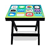 Nutcase Designer Folding Wooden Side Table-Portable Foldable Compact Bed Side Coffee Table - 12 (L) x 15(w) x 16 (h) Amazon deals