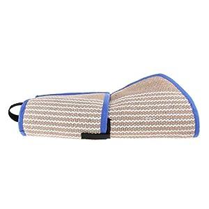 perfeclan Jouet de Morsure Resistant Manche en Lin de Protection Manchon Anti Morsure Equipement d'Education de Chien Chiot en Plein Air