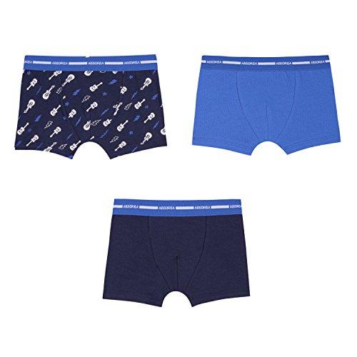 Absorba Underwear Boxer, Short Garçon, Bleu (Light Blue 41), 3 Ans (Taille Fabricant: 3A)