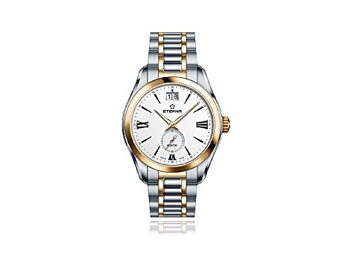 Eterna Lady KonTiki Quartz Watch, Ronda 6004.B, 36,4mm, PVD, 1270.53.12.1732