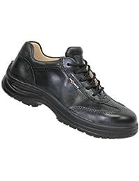 GSA Calzado de Protección de Piel Para Hombre Negro Negro, Color Negro, Talla 41