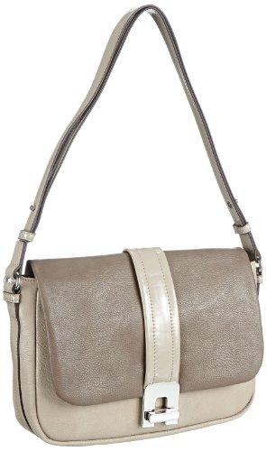 ESPRIT Damentasche L15051, Damen Henkeltaschen 28x18x7 cm (B x H x T) Beige (Mud 036)